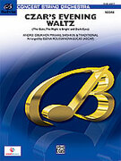 Cover icon of Czar's Evening Waltz (COMPLETE) sheet music for string orchestra by Nikolay Obukhov, intermediate skill level