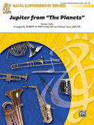 Cover icon of Jupiter (COMPLETE) sheet music for concert band by Gustav Holst, Robert W. Smith and Michael Story