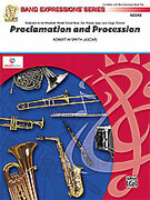Cover icon of Proclamation and Procession sheet music for concert band (full score) by Robert W. Smith