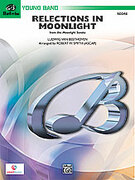 Cover icon of Reflections In Moonlight (COMPLETE) sheet music for concert band by Ludwig van Beethoven, classical score, easy skill level