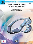 Cover icon of Ancient Aires and Dances (COMPLETE) sheet music for concert band by Ottorino Respighi and Jerry Brubaker, classical score, easy/intermediate concert band