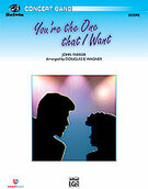 Cover icon of You're the One That I Want sheet music for concert band (full score) by John Farrar and Douglas E. Wagner