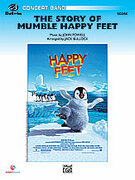 Cover icon of The Story of Mumble Happy Feet sheet music for concert band (full score) by John Powell and Jack Bullock