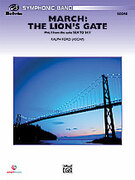 Cover icon of March: The Lion's Gate (COMPLETE) sheet music for concert band by Ralph Ford