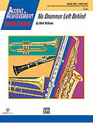 Cover icon of No Drummer Left Behind (COMPLETE) sheet music for concert band by Mark Williams, beginner skill level