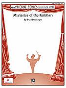 Cover icon of Mysteries of the Kalahari sheet music for concert band (full score) by Bruce Preuninger, beginner skill level