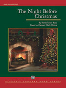 Cover icon of The Night Before Christmas sheet music for concert band (full score) by Randol Alan Bass