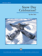Cover icon of Snow Day Celebration! sheet music for concert band (full score) by Alan Stein, easy/intermediate