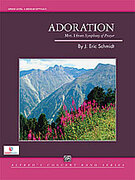 Cover icon of Adoration sheet music for concert band (full score) by J. Eric Schmidt, intermediate skill level