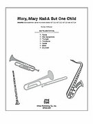 Cover icon of Mary, Mary Had-A But One Child sheet music for Choral Pax (full score) by Jay Althouse