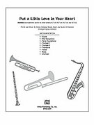 Cover icon of Put a Little Love in Your Heart sheet music for Choral Pax (full score) by Jimmy Holiday, Randy Myers, Jackie DeShannon and Jay Althouse, easy/intermediate