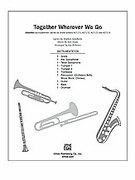 Cover icon of Together Wherever We Go sheet music for Choral Pax (full score) by Stephen Sondheim, Jule Styne and Jay Althouse, easy/intermediate
