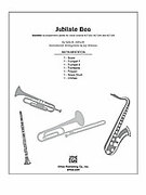 Cover icon of Jubilate Deo (COMPLETE) sheet music for Choral Pax by Sally K. Albrecht