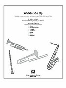 Cover icon of Walkin' On Up sheet music for Choral Pax (full score) by Sally K. Albrecht, easy/intermediate skill level