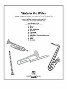 Cover icon of Wade in the Water sheet music for Choral Pax (full score) by Anonymous, classical score, easy/intermediate skill level