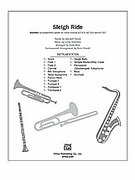 Cover icon of Sleigh Ride (COMPLETE) sheet music for Choral Pax by Leroy Anderson, Mitchell Parish and Andy Beck