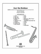 Cover icon of Over the Rainbow (COMPLETE) sheet music for Choral Pax by Harold Arlen