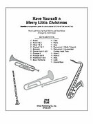 Cover icon of Have Yourself a Merry Little Christmas sheet music for Choral Pax (full score) by Hugh Martin, Ralph Blane and Mark Hayes
