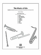 Cover icon of The Music of Life sheet music for Choral Pax (full score) by Jay Althouse