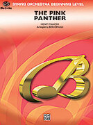 Cover icon of The Pink Panther sheet music for string orchestra (full score) by Henry Mancini