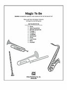 Cover icon of Magic to Do sheet music for Choral Pax (full score) by Stephen Schwartz and Alan Billingsley