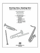 Cover icon of Starting Here, Starting Now (COMPLETE) sheet music for Choral Pax by David Shire, Richard Maltby and John Leavitt