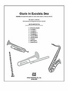 Cover icon of Gloria in Excelsis Deo sheet music for Choral Pax (full score) by Sally K. Albrecht