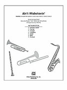 Cover icon of Ain't Misbehavin' (COMPLETE) sheet music for Choral Pax by Thomas Waller, Andy Razaf, Thomas Waller and Larry Shackley, wedding score, easy/intermediate