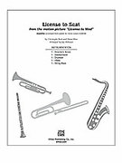 Cover icon of License to Scat (COMPLETE) sheet music for Choral Pax by Christophe Beck, Adam Blau and Jay Althouse
