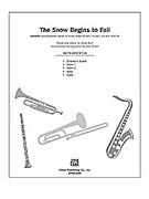 Cover icon of The Snow Begins to Fall (COMPLETE) sheet music for Choral Pax by Andy Beck, easy/intermediate