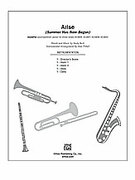 Cover icon of Arise (COMPLETE) sheet music for Choral Pax by Andy Beck