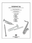 Cover icon of Antiphonal Joy sheet music for Choral Pax (full score) by Giovanni Anerio and Patrick Liebergen