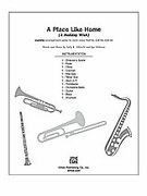 Cover icon of A Place Like Home sheet music for Choral Pax (full score) by Sally K. Albrecht