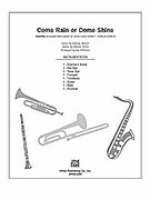 Cover icon of Come Rain or Come Shine (COMPLETE) sheet music for Choral Pax by Harold Arlen