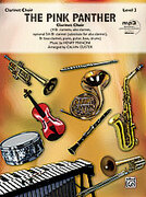 Cover icon of The Pink Panther (COMPLETE) sheet music for clarinet by Henry Mancini and Calvin Custer, intermediate