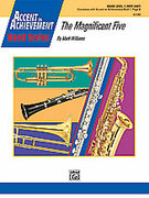 Cover icon of The Magnificent Five (COMPLETE) sheet music for concert band by Mark Williams