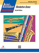 Cover icon of Elizabethan Dance (COMPLETE) sheet music for concert band by Mark Williams