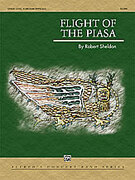Cover icon of Flight of the Piasa sheet music for concert band (full score) by Robert Sheldon
