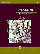 Cover icon of Evensong sheet music for concert band (full score) by William G. Harbinson, easy/intermediate skill level