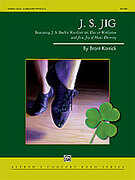Cover icon of J.S. Jig sheet music for concert band (full score) by Brant Karrick