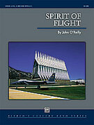 Cover icon of Spirit of Flight sheet music for concert band (full score) by John O'Reilly, intermediate concert band (full score)