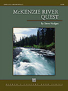 Cover icon of McKenzie River Quest sheet music for concert band (full score) by Steve Hodges