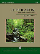 Cover icon of Supplication (COMPLETE) sheet music for concert band by J. Eric Schmidt, intermediate