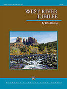 Cover icon of West River Jubilee (COMPLETE) sheet music for concert band by John Darling, intermediate