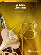 Cover icon of A Celtic Christmas (COMPLETE) sheet music for concert band by Anonymous and Douglas E. Wagner