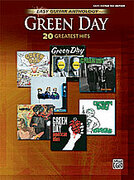 Cover icon of Waiting sheet music for guitar solo by Green Day, Billie Joe and Anthony Hatch