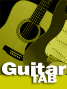 Cover icon of Outside sheet music for guitar solo (tablature) by Aaron Lewis