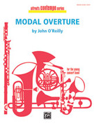 Cover icon of Modal Overture sheet music for concert band (full score) by John O'Reilly
