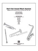 Cover icon of Don't Get Around Much Anymore (COMPLETE) sheet music for Choral Pax by Anonymous and Jay Althouse, easy/intermediate skill level