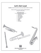 Cover icon of Let's Get Loud (COMPLETE) sheet music for Choral Pax by Gloria Estefan, Kike Santander and Kirby Shaw